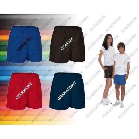 Spodenki krótkie S-2XL ,dziecięce poliamid różne kolory BAYWATCH VALENTO