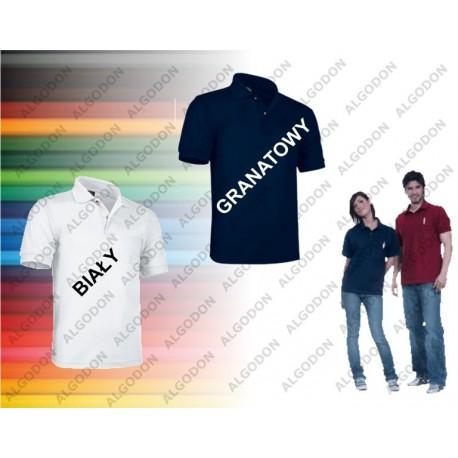 Koszulka Polo krótki rękaw Hawk z Kieszonką