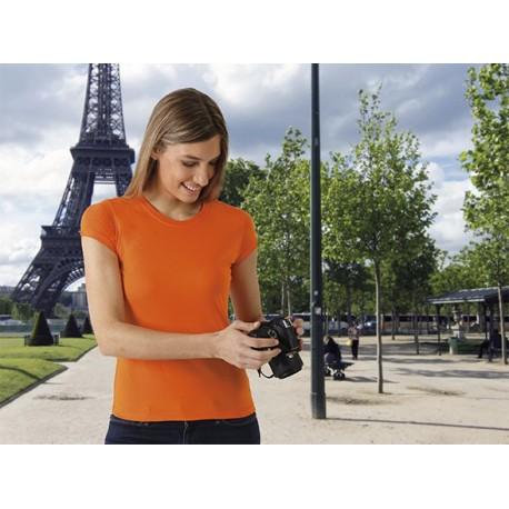 T-shirt damski krótki rękaw 100 % bawełna Paris Valento
