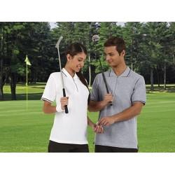 Polo krótki rękaw , zapięcie na zamek, bawełna Golf