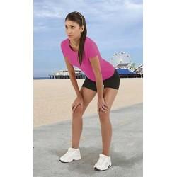 Spodenki sportowe, damskie, krótkie z elastanem XS-2XL ACTION VALENTO