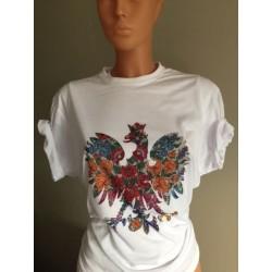 T-shirt Koszulka z orłem ORZEŁ ludowy FOLK