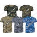 T-shirt koszulka moro ASG bawełna 200g/m2 woodland Jungle pantera leśna