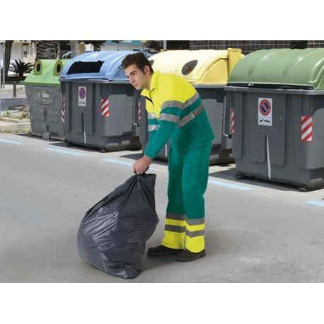 SPODNIE robocze odblaskowe ostrzegawcze z normą EN471 odzież odblaskowa