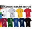 T-shirt koszulka bawełniana 100% bawełna duże rozmiary 3XL XXXL 4XL XXXXL