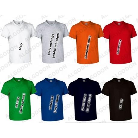 T-shirt krótki rękaw dekolt V Sun VALENTO