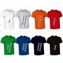 T-shirt V-neck krótki rękaw dekolt V Sun VALENTO