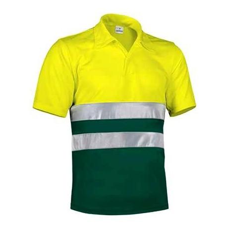 Koszulka POLO odblaskowa ostrzegawcza robocza z normą EN471