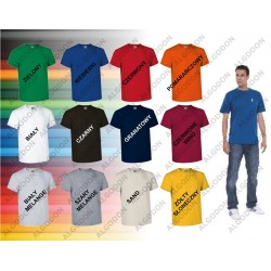 T-shirt z kieszonką bawełna S-2XL EAGLE VALENTO