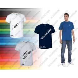 T-shirt z kieszonką bawełna 3XL-4XL EAGLE VALENTO