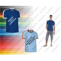 T-shirt kolorowy z krótkim rękawem XS-2XL SPLASH VALENTO