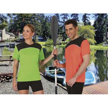MAURICE T-shirt koszulka sportowa techniczna termoaktywna oddychająca szybkoschnąca poliestrowa bielizna termiczna CrossFIT