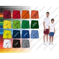 Spodenki krótkie dziecięce i dorosłe S-3XL oddychające różne kolory COLLEGE VALENTO