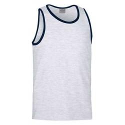 Koszulka bawełniana bez rękawów ATLETIC : XS - XXL
