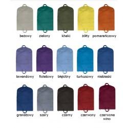 Pokrowiec na garnitury ubrania 65x100 cm w dużej kolorystyce