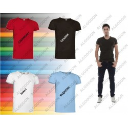 T-shirt krótki rękaw v-neck S-2XL COBRA VALENTO