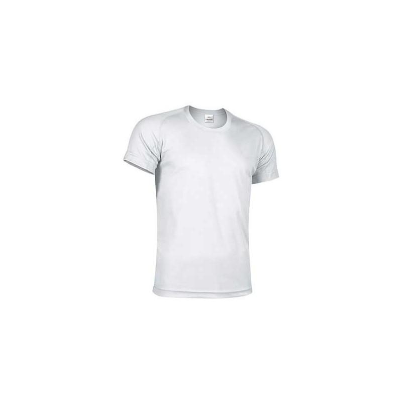 853c5db07 Biały T-shirt koszulka sportowa techniczna termoaktywna oddychająca  szybkoschnąca poliestrowa bielizna termiczna CrossFIT. Loading zoom