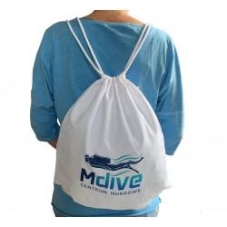Plecak worek z nadrukiem Mdive
