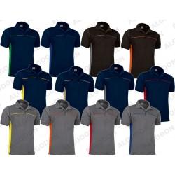 Koszulka POLO THUNDER dwukolorowa krótki rękaw
