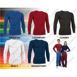 Koszulka oddychająca, termoaktywna, druga skóra długi rękaw S-2XL SKYNET bielizna dla nurka