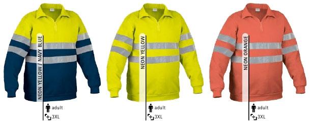 Bluza odblaskowa ostrzegawcza. Odzież ostrzegawcza EN471