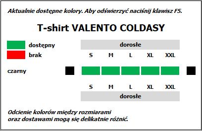 COLDASY koszulka