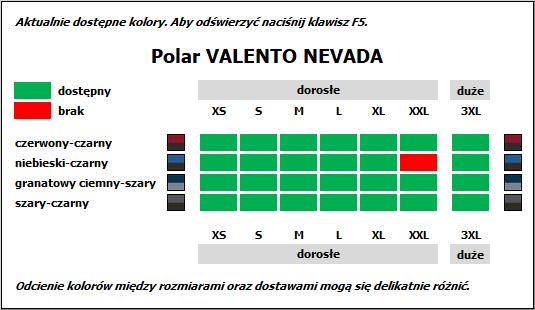 Polar dwukolorowy Valento Nevada