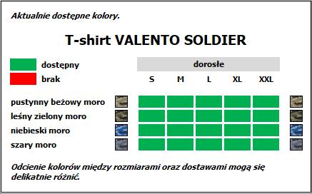 koszulka wojskowa moro